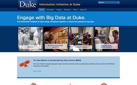 Duke Information Initiative at Duke