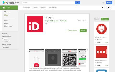 PingID - Apps on Google Play