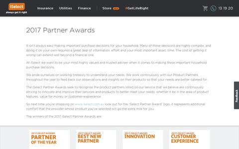 iSelect - Partner Awards
