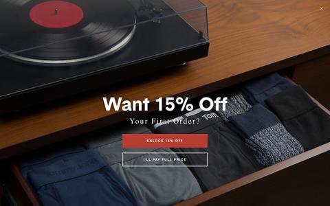 Shop Men's Boxer Briefs Underwear Online | Tommy John