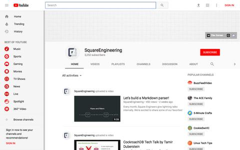 SquareEngineering - YouTube - YouTube