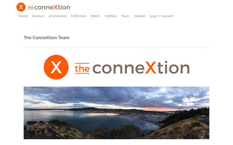 Screenshot of Team Page theconnextion.com - Team - new conx - captured Nov. 19, 2018