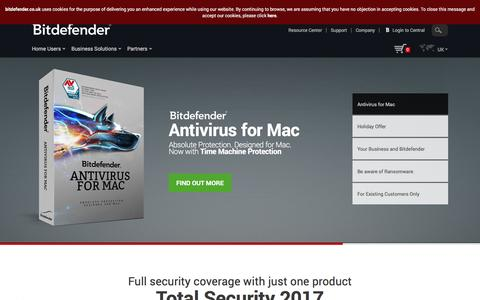 Antivirus software - BitDefender - The future of security now!