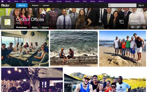 Screenshot of Flickr Page flickr.com - Flickr: Cydcor's Photostream - captured Oct. 22, 2014