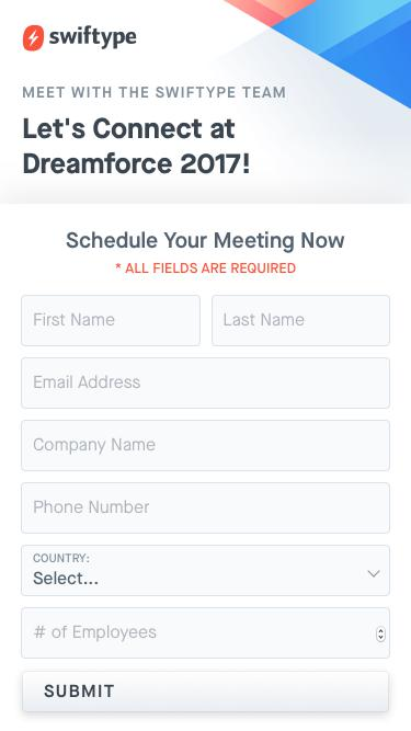 Let's Connect at Dreamforce 2017!
