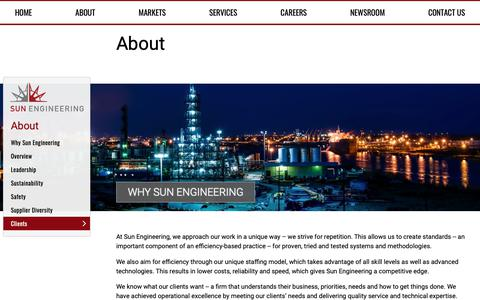 Screenshot of Home Page Team Page sunengr.net - Sun Engineering - Engineering Consulting Services - captured Nov. 18, 2018