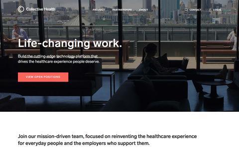 Health Tech Jobs at Collective Health