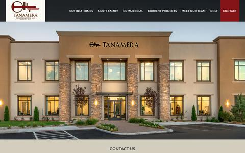 Screenshot of Contact Page tanamera.info - Contact – Tanamera :: Reno NV Commerical and Residential Real Property - captured Oct. 23, 2018