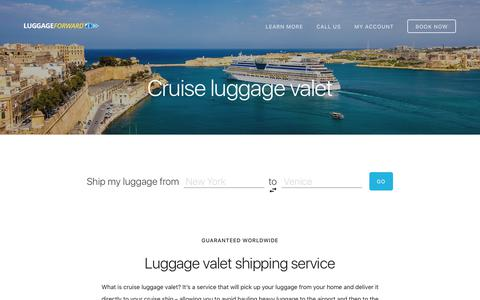 Cruise Luggage Valet - Ship Luggage to Any Cruise Ship