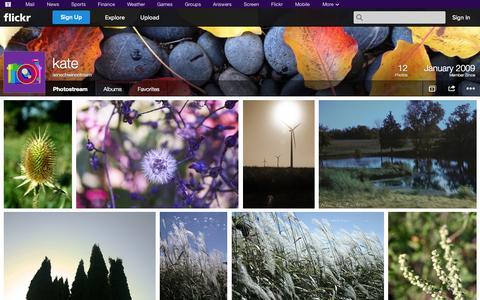 Screenshot of Flickr Page flickr.com - Flickr: senachwinestream's Photostream - captured Oct. 26, 2014