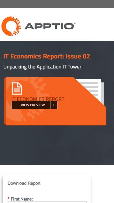 IT Economics Report: Issue 02
