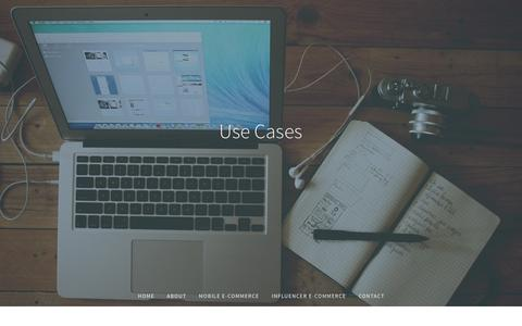 Screenshot of Case Studies Page commercedatascience.com - USE CASES | CDScience - captured Nov. 2, 2014
