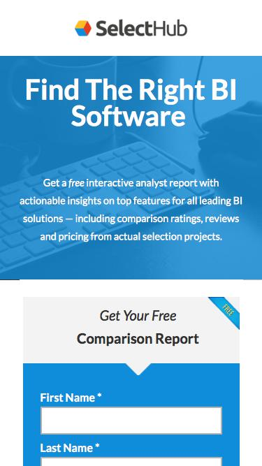Find The Right BI Software