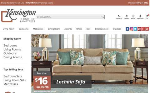 Kensington Furniture Online | Discount living room, bedroom, mattress