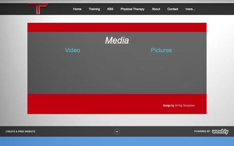 Screenshot of Press Page elite-factory.com - Media - The Factory - captured Oct. 2, 2014