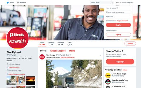 Pilot Flying J (@PilotFlyingJ) | Twitter