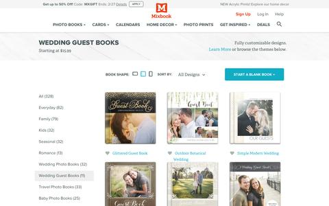 Wedding Guest Books | Mixbook