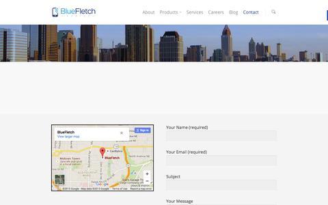 Contact BlueFletch- Mobile Business Experts | BlueFletch