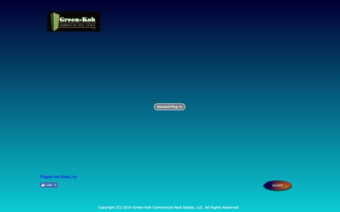 Screenshot of Home Page green-koh.com - Home - captured Sept. 20, 2017