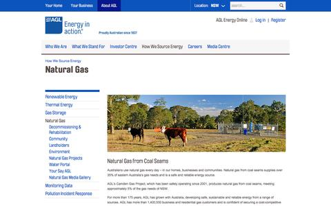 Natural Gas Suppliers | A Natural Gas Company | AGL