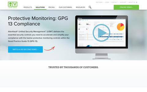 Protective Monitoring: GPG13 Compliance Software | AlienVault