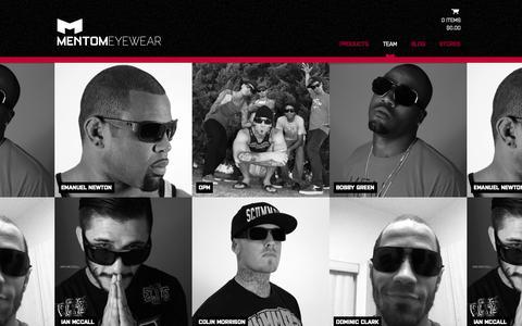 Screenshot of Team Page mentom.com - Team - mentom.com - captured Oct. 4, 2014