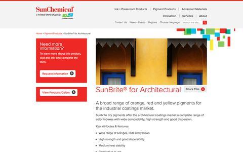 SunBrite® for Architectural