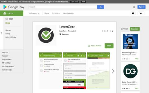 LearnCore - Android Apps on Google Play