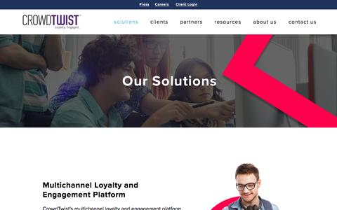 solutions — CrowdTwist