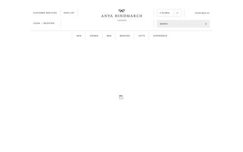 Screenshot of Login Page anyahindmarch.com - My Account Login | Anya Hindmarch - captured June 2, 2019