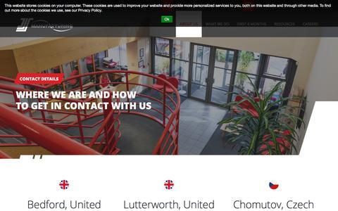 Screenshot of Contact Page jjsmanufacturing.com - Contact details | JJS Manufacturing - captured Jan. 17, 2020