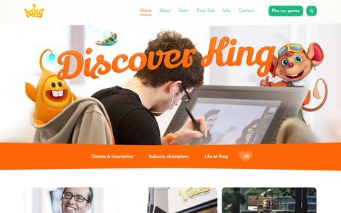 Home - Discover King