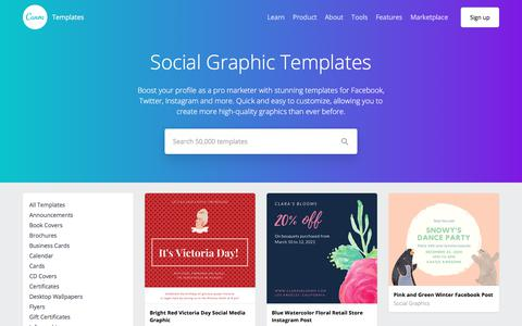 Social Graphic Templates – Canva