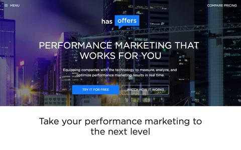 HasOffers by TUNE: The Leading Performance Marketing Software