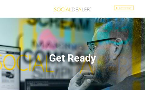Screenshot of Home Page socialdealer.com - SOCIALDEALER - captured Nov. 5, 2018