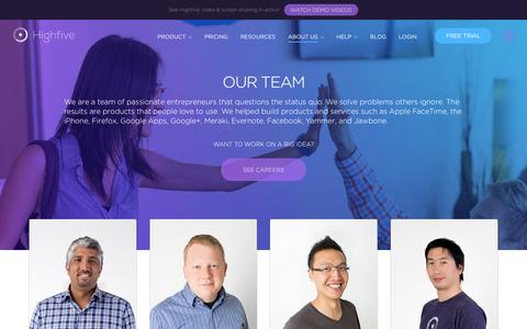 Our Team | Highfive