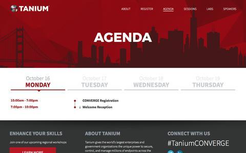 Agenda - Tanium
