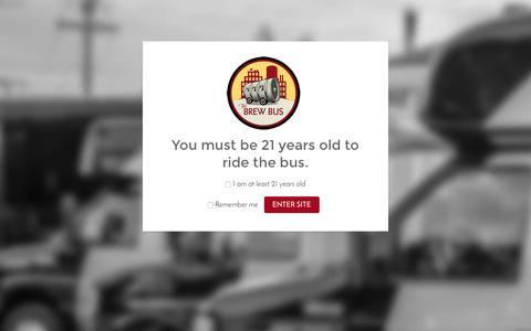 Screenshot of Jobs Page brewbususa.com - Careers   Brew Bus - captured July 30, 2016