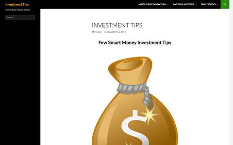 Screenshot of Home Page pttar.com - How to Invest Your Money Wisely - captured Oct. 1, 2014