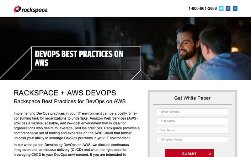 DevOps best practices on AWS
