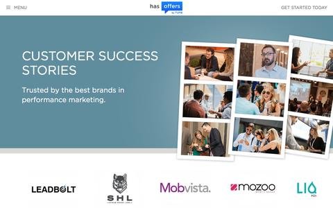 Performance Marketing Customer Success Stories | HasOffers