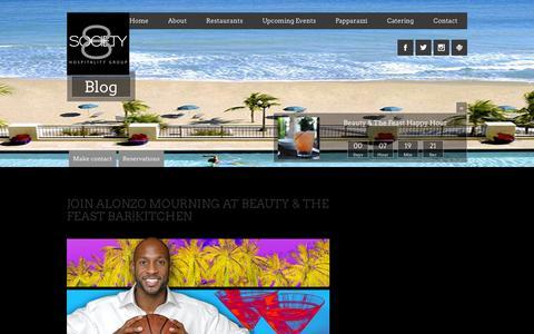 Screenshot of Press Page society8.com - Blog - Society 8 - - captured Oct. 7, 2014