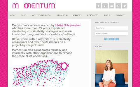 Screenshot of Team Page momentumpartnerships.com - people - Momentum Partnerships - captured Oct. 20, 2018