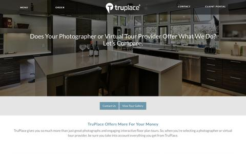 Screenshot of Pricing Page truplace.com - TruPlace World Class Process - captured Sept. 21, 2018