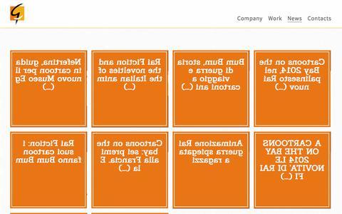 Screenshot of Press Page graphilm.com - GRAPHILM  - News - captured Nov. 2, 2014