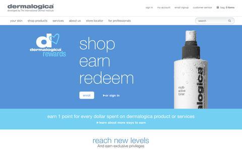 Rewards Landing Page