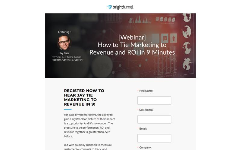 How to Tie Marketing to Revenue and ROI in 9 Minutes