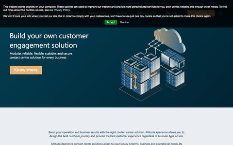 Screenshot of Products Page altitude.com - Products   Altitude - captured July 2, 2019