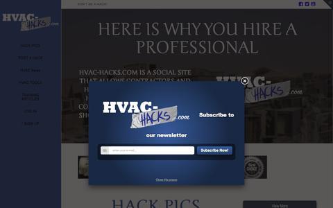 HVAC Hacks | Don't Be A Hack