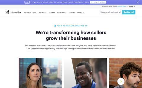 Screenshot of Jobs Page teikametrics.com - Who we are | Teikametrics - captured Oct. 20, 2018
